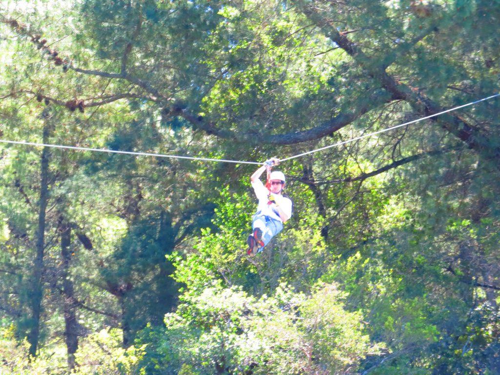 Canopy en salto del laja